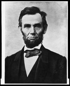 Photograph of Abraham Lincoln from the Library of Congress