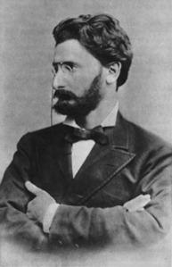 A public domain image of Joseph Pulitzer (thanks to Wikipedia)