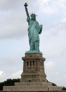 """Liberty Enlightening the World"", perhaps better known these days as ""The Statue of Liberty"""
